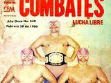 Combates de Lucha Libre 540