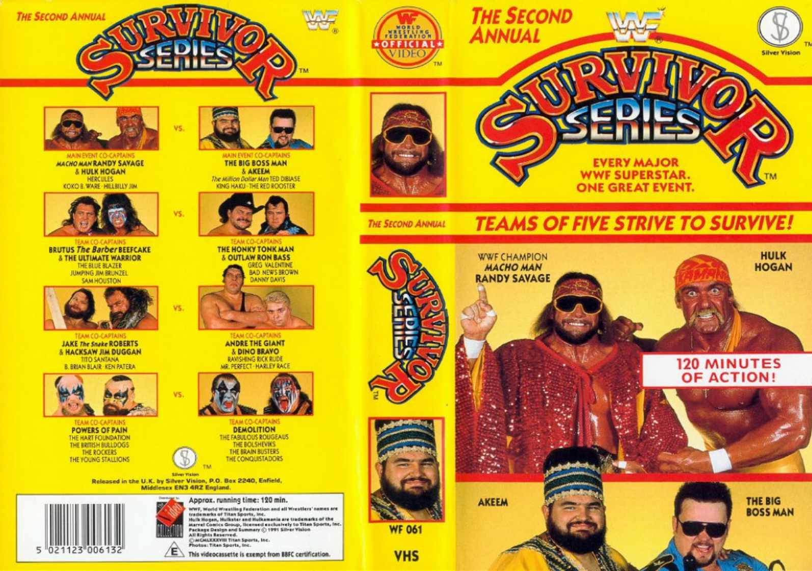 Image Survivor Series 1988 Dvd Jpg Pro Wrestling