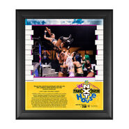 Tegan Nox, Shotzi Blackheart & Mia Yim NXT TakeOver In Your House 2020 15 x 17 Limited Edition Plaque