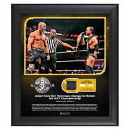 Adam Cole NXT TakeOver Portland 15 x 17 Limited Edition Plaque