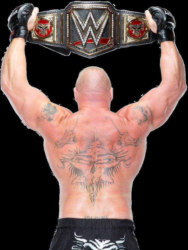 Brock Lesnar Wwe World Heavyweight Champion By Nibble T D9j3t1g