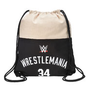 WrestleMania 34 Canvas Drawstring Bag
