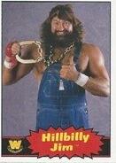 2012 WWE Heritage Trading Cards Hillbilly Jim 79