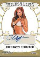 2016 Leaf Signature Series Wrestling Christy Hemme 19