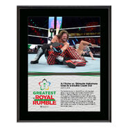 AJ Styles Greatest Royal Rumble 2018 10 x 13 Photo Plaque
