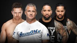 EC 2019 The Miz & Shane v The Usos