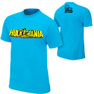Hulk Hogan Hulkamania Blue T-Shirt