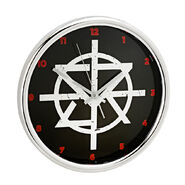 Seth Rollins 12 inch Chrome Wall Clock