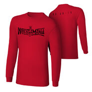 WrestleMania 31 Logo Long Sleeve T-Shirt