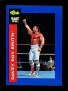 1991 WWF Classic Superstars Cards Davey Boy Smith 7