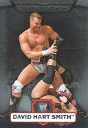 2010 WWE Platinum Trading Cards David Hart Smith 106