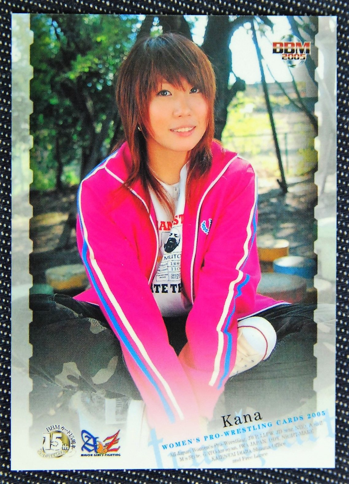 2015 BBM True Heart Japanese Women's Pro Wrestling Kana (No 52