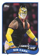 2018 WWE Heritage Wrestling Cards (Topps) Sin Cara 75