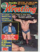 Inside Wrestling - December 1981
