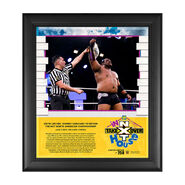 Keith Lee NXT TakeOver In Your House 2020 15 x 17 Limited Edition Plaque