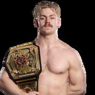 Tyler Bate United Kingdom Champion 2017