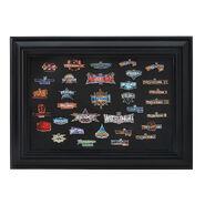 WrestleMania 33 Collector's Pin Set Frame
