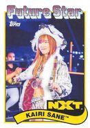 2018 WWE Heritage Wrestling Cards (Topps) Kairi Sane 101