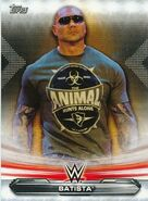 2019 WWE Raw Wrestling Cards (Topps) Batista 6