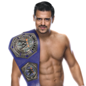 Angel Garza CruiserChamp