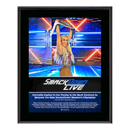 Carmella SmackDown Live New Orleans 10 x 13 Photo Plaque