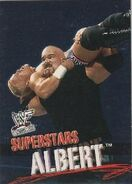 2001 WWF WrestleMania (Fleer) Albert 12
