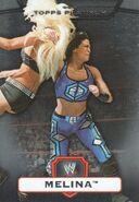 2010 WWE Platinum Trading Cards Melina 14