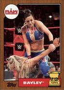 2017 WWE Heritage Wrestling Cards (Topps) Bayley 12