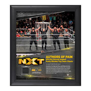Authors of Pain TakeOver Toronto 15 x 17 Framed Plaque w Ring Canvas