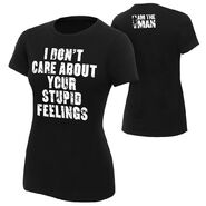 Becky Lynch I Don't Care About Your Feelings Women's Authentic T-Shirt
