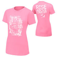 Christian Rise Above Cancer Pink Women's T-Shirt