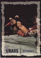 2004 WWE Chaos (Fleer) Christian 69