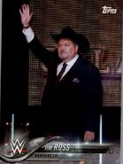 2018 WWE Wrestling Cards (Topps) Jim Ross 40