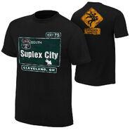 Brock Lesnar Suplex City Cleveland Authentic T-Shirt