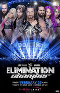 Elimination Chamber 2018 poster