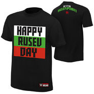 Rusev Happy Rusev Day Authentic T-Shirt