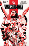 WWE Wrestlemania 2017 Comic Book