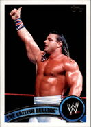 2011 WWE (Topps) The British Bulldog 90