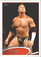2012 WWE (Topps) Alex Riley 73