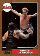 2017 WWE Heritage Wrestling Cards (Topps) Chris Jericho 20