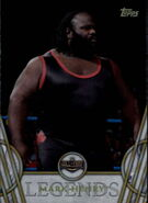 2018 Legends of WWE (Topps) Mark Henry 34