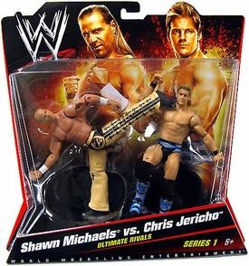 Seth Rollins-Basic battlepacks series 24-WWE Mattel Wrestling Figure