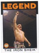 2016 WWE Heritage Wrestling Cards (Topps) The Iron Sheik 105