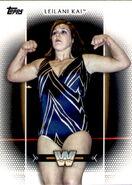 2017 WWE Women's Division (Topps) Leilani Kai 48