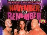 November to Remember 1997