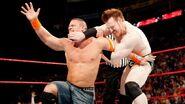 Raw 1-25-10 Cena challenge Sheamus