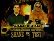 Test Vs Shane Mcmahon
