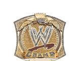 WWE Spinner Championship Belt Buckle