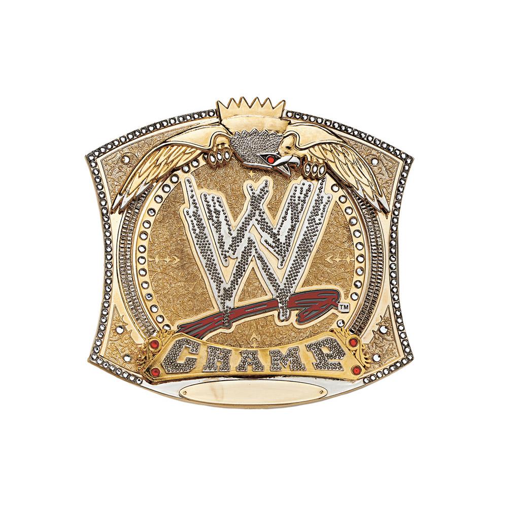 Wwe Spinner Championship Belt Buckle Pro Wrestling Fandom