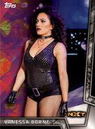 2018 WWE Women's Division (Topps) Vanessa Borne 45
